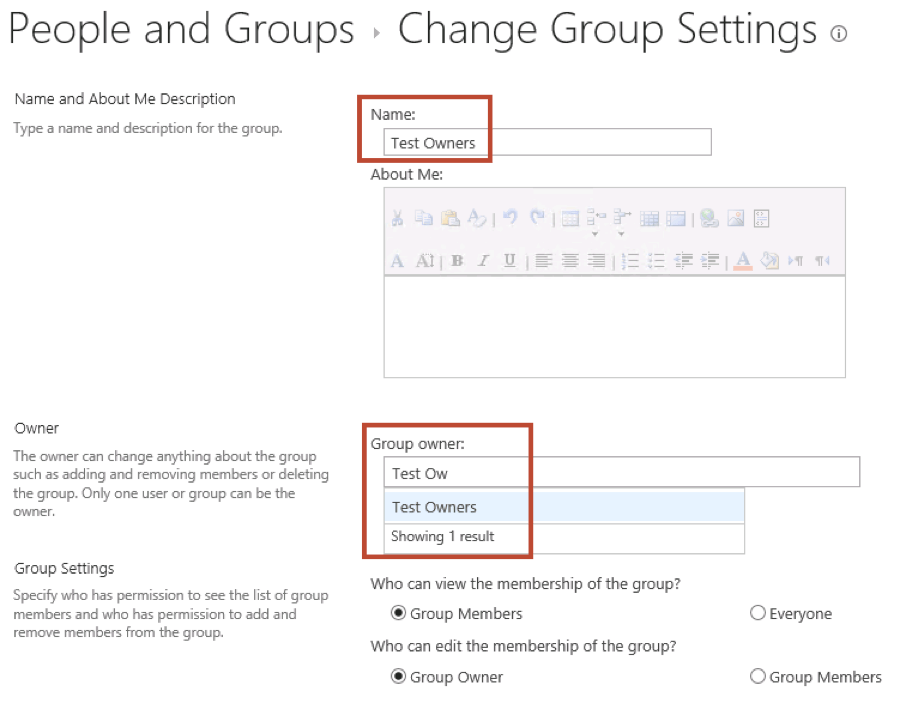 Tips to set up group owners for SharePoint permissions   Habanero