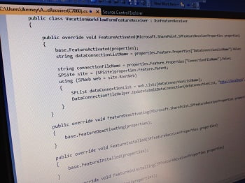 Custom Code Workflow for SharePoint